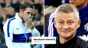 Manchester United Brutally Troll Chelsea On Twitter And Fans Are Loving It