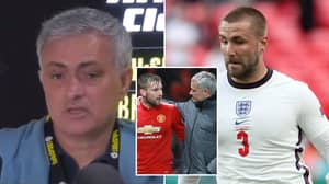 Jose Mourinho Takes Aim At Luke Shaw Yet Again With 'Dramatically Bad' Analysis