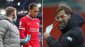 Virgil Van Dijk's Injury Is 'Having A Psychological Effect' On Liverpool This Season