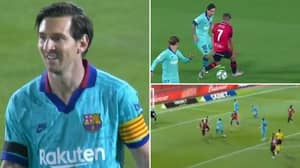 Lionel Messi's Individual Highlights Vs Mallorca Prove He Is More Motivated Than Ever