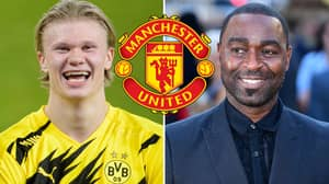 Andy Cole Claims He Is Not Sure If Erling Haaland 'Wants To Play For Manchester United Now'