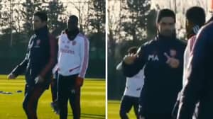 Arsenal Training Clip Shows Mikel Arteta Is The Manager They Need