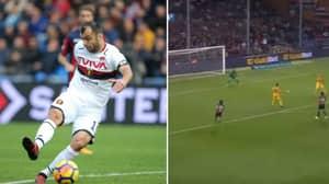 Goran Pandev Pulls Off An Unbelivable Chip Against Hellas Verona