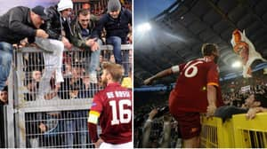 What Roma Ultras Have Done After Hearing Of Daniele De Rossi's Exit