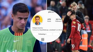 Philippe Coutinho Removes Barcelona From His Instagram Bio Amid Liverpool Speculation