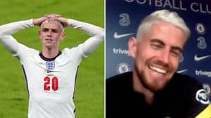 Jorginho Has Dyed His Hair Like Phil Foden After Winning Euro 2020 With Italy