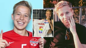 Canada Star Quinn Becomes 'First Openly Trans Olympian' To Compete At The Olympics