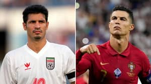 Cristiano Ronaldo Receives Classy Message From Ali Daei After Equalling International Goals Record