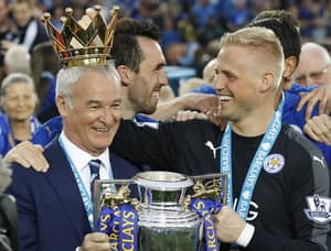 Leicester City Goalkeeper Kasper Schmeichel Posts Classy Tribute To Claudio Ranieri