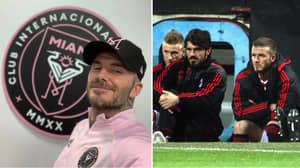David Beckham Wants Gennaro Gattuso To Coach Inter Miami