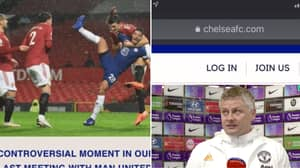 Ole Gunnar Solskjaer Accuses Chelsea Of 'Trying To Influence' The Referee With Official Website Comment On Harry Maguire