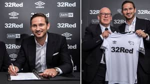 Frank Lampard Confirmed As Derby County Manager
