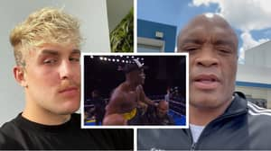 Jake Paul Makes Anderson Silva An Offer After His Victory Over Julio Cesar Chavez Jr