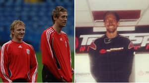 The Time Peter Crouch Decided To Crash Into Dirk Kuyt Over Xabi Alonso At Go Karting