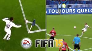 Neymar And Dani Alves Recreate FIFA Corner Glitch And It's So Satisfying
