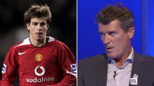 Gerard Pique Nearly 'S**t Himself' As An 18-Year-Old After Roy Keane Incident At Manchester United