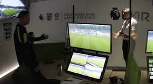 VAR Officials Caught Debating Penalty Decision During Leicester City Vs Wolves