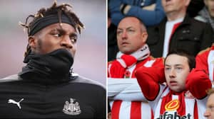 "Allan Saint-Maximin Ruins A Sunderland Fan Who Said Newcastle Were ""S***"""