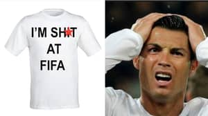 "You Can Buy A ""I'm Sh*t At FIFA T-Shirt"" On Amazon"