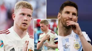Kevin De Bruyne Is The 'Best Playmaker In World Football' Ahead Of Lionel Messi