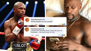 Floyd Mayweather Has Gone On A Facebook Commenting Spree And People Are Very Confused