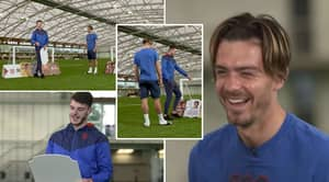 Jack Grealish And Declan Rice Give Priceless Reactions To FIFA 22 Ratings
