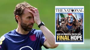 Scottish Newspaper Asks Italy To 'Save Us' Ahead Of Euro 2020 Final Against England