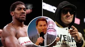 Eddie Hearn Responds To Tyson Fury Calling For Anthony Joshua To Drop WBO Title
