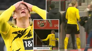 Erling Haaland Breaks Silence After Storming Off And Angrily Throwing Borussia Dortmund Shirt Away