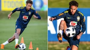 Neymar Returns To Brazil Training Ahead Of The World Cup