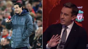 What Gary Neville Said About Unai Emery Back In August Is A Must Watch