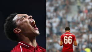 Liverpool's Trent Alexander-Arnold Makes Champions League Final History