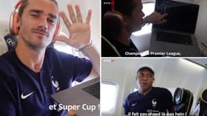 Antoine Griezmann Tells Kylian Mbappe He Signed Him For Newcastle On Football Manager, He Responds Hilariously