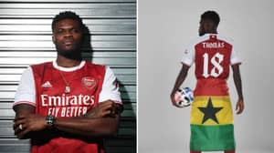 Thomas Partey Reveals Why He Doesn't Have His Surname On His Shirt