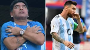 Diego Maradona Has Offered To Manage Argentina For Free