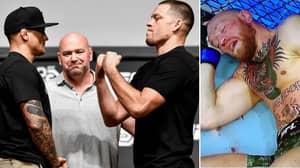 Nate Diaz Calls Out Dustin Poirier For Mega-Fight And Mocks Conor McGregor