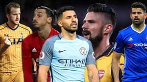 The Premier League's Most Prolific Striker According To Stats