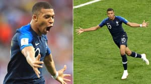 Kylian Mbappe Is The Youngest Player To Score In A World Cup Final Since Pele