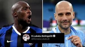 Romelu Lukaku Responds To Potential Manchester City Move After Trevor Sinclair Asks Him During Q&A