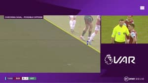 VAR Rules Out Jack Grealish's Goal for Aston Villa Against Burnley
