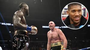 Anthony Joshua Predicts Tyson Fury Will Beat Deontay Wilder In Rematch