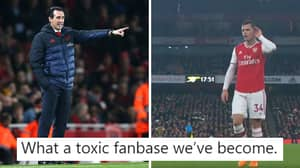 Arsenal Fan's Tweet About Treatment Of Players Like Granit Xhaka Goes Viral