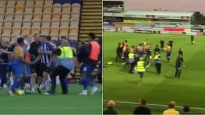 A Huge 22-Man Brawl Breaks Out In 90th Minute Of Pre-Season 'Friendly'