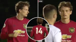 Manchester United Teenager Max Taylor Makes His Stunning Return Eight Months After Being Diagnosed With Cancer