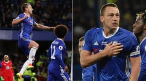 John Terry Was In Tears When He Celebrated His Last Ever Goal For Chelsea