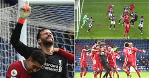 Alisson's Goal For Liverpool With Brazilian Commentary Is Best Thing You Will Hear Today