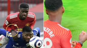 Fans Think Axel Tuanzebe Was Wearing An Apple Watch While Playing For Manchester United