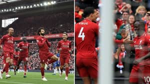 Liverpool Beat Chelsea 2-0 To Return To The Top Of The Premier League