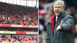 Watford Fans Brutally Troll Arsenal About Their Empty Ground