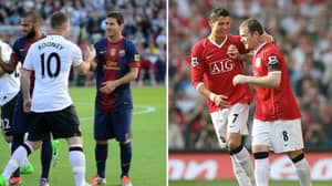 What Lionel Messi And Cristiano Ronaldo Said About Wayne Rooney Speaks Volumes Of How He Good He Was